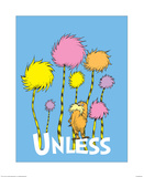 The Lorax: Unless (on blue)