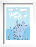 Horton Hears a Who (on blue)