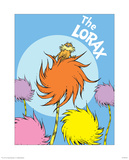 The Lorax (on blue)