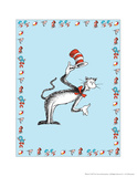 The Cat in the Hat: The Cat (on blue)