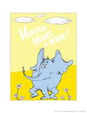 Horton Hears a Who (on yellow)