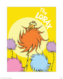 The Lorax (on yellow)