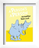 Horton Hears a Who: A Person&#39;s a Person (on yellow)