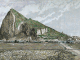 Rock of Gibraltar by Rico  1882