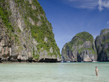 Maya Bay  Phi Phi Leh  Phuket  Andaman Sea  Thailand