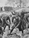 Ww1 (1914-1918) Occupation of Belgium by German Troops (August 1914)