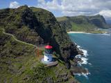 Makapuu Lighthouse  Oahu  Hawaii