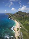 Sandy Beach  Koko Crater  Honolulu  Oahu  Hawaii