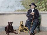 Otto-Leopold Bismarck  Prince of Bismarck (1815-1898) German Statesman Bismarck in Friedrichruhe