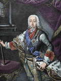 Duke of Holstein (Charles Peter  1739-1762) and Tsar of Russia (January-July 1762)