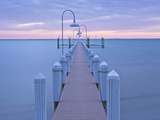 Private Dock at Dawn  Captiva  Florida  Usa