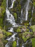 Bride's Veil Waterfall  Isle of Skye  Scotland