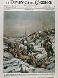 Fighting Between Russian and German TroopsLa Domenica Del Corriere (January 1943)
