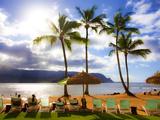 St Regis Princeville  Hanalei Bay  Kauai  Hawaii
