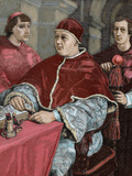 Leo X (1475-1521) Florentine Pope (1513-1521)  Named Giovanni De Medici Pope Leo X