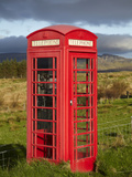 Public Phone Box  Ellishadder  Near Staffin  Trotternish Peninsula  Isle of Skye  Scotland