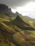 Road Ascending the Quiraing  Isle of Skye  Scotland