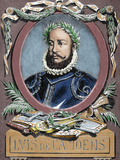 Luis Vaz De Camoes (1524-1580) Portuguese Poet by Carter