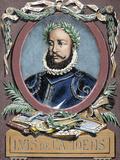 Luis Vaz De Camoes (1524-1580) Portuguese Poet by Carter