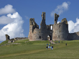 Dunstanburgh Castle Ruins  Northumberland  England