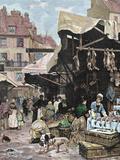 Market  Paris  France