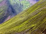 Volcanic Mountain Slope  Iceland