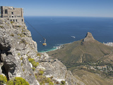 Table Mountain National Park Cableway Aerial Tram and Station  Cape Town  South Africa