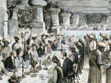 Gala Dinner Held in the Underground Temple of Elephanta on the Occasion of the Visit of the Prince