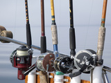 Fishing Poles  Alaska  Usa