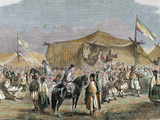Prince of Romania (1859-1866) Country Feast by R Cremer