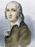 Friedrich Holderlin (Lauffen-Am-Neckar  1770  Tubingen  1843) German Lyric Poet