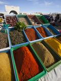 Spice Market  Douz  Sahara Desert  Tunisia