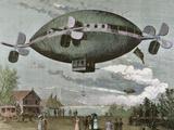 Aerostat in 'The Illustration'  1887