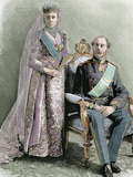 King of Denmark (1863-1906)  Was the First Sovereign of the Branch Blucksburg