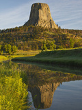 Devil's Tower National Monument  Wyoming  Usa
