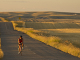 Road Bicycling Near Great Falls  Montana  Usa