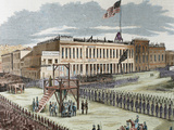Public Execution of Murderers Joseph Hetherington and Philander Brace  29 July 1856