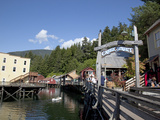 Downtown Creek Street  Ketchikan  Alaska  Usa