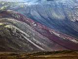 Pattern on Volcanic Mountain  Iceland