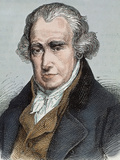 James Watt (Greenok 1736-Heathfield  1819) Scottish Inventor and Mechanical Engineer