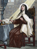Teresa of Avila (1515-1582) Religious Reformer of the Carmelite Order by Capuz