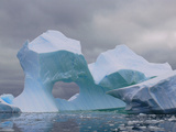 Iceberg Arch  Near Lemaire Channel  Antarctic Peninsula