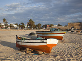Kasbah Fort and Fishing Boats  Hammamet  Cap Bon  Tunisia