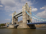 Tower Bridge and River Thames  London  England  United Kingdom