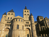 Dom St Peter Cathedral (Der Dom) and Church of Our Dear Lady  Rhineland-Palatinate  Trier  Germany