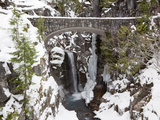Christine Falls  Rainier National Park  Mt  Washington  Usa