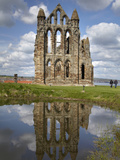 Whitby Abbey Ruins (Built Circa 1220)  Whitby  North Yorkshire  England
