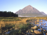One of the Four Summits of Beauchaille Etive Mor  River Etive  Near Glencoe  Argyll  Scotland