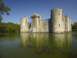Bodiam Castle (1385)  Reflected in Moat  East Sussex  England