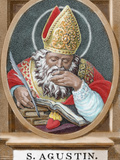 St Augustine (354-430) African Bishop  Doctor and Father of the Church
